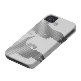 Batman And Robin Halftone Gradient iPhone 4 Cover