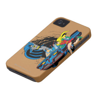 Batman And Robin In Batcave iPhone 4 Cover