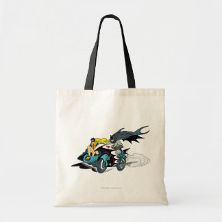 Batman And Robin In Batcycle