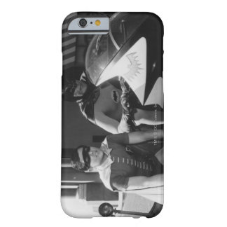 Batman and Robin in Batcycle Barely There iPhone 6 Case