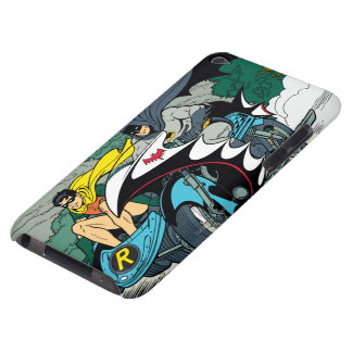 Batman And Robin In Batcycle Barely There iPod Covers