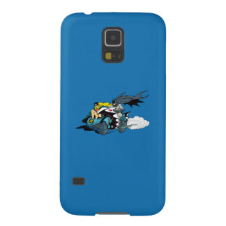 Batman And Robin In Batcycle Cases For Galaxy S5