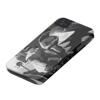 Batman and Robin in Batcycle iPhone 4 Cover
