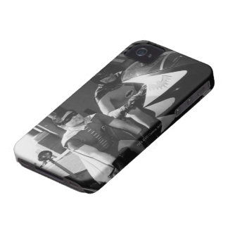 Batman and Robin in Batcycle iPhone 4 Covers