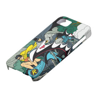 Batman And Robin In Batcycle iPhone 5 Cover