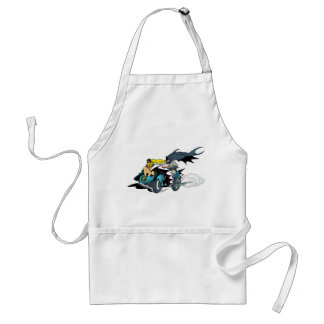 Batman And Robin In Batcycle Standard Apron