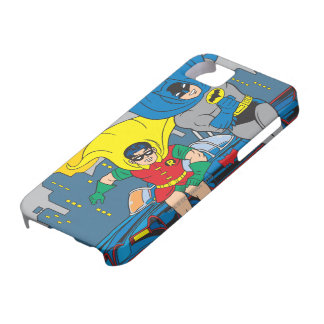 Batman And Robin Running Barely There iPhone 5 Case