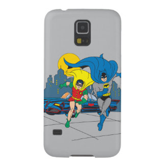 Batman And Robin Running Galaxy S5 Cases