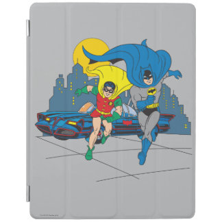 Batman And Robin Running iPad Cover