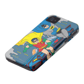 Batman And Robin Running iPhone 4 Covers