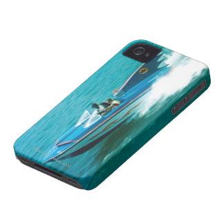 Batman And Robin Speedboat iPhone 4 Cover