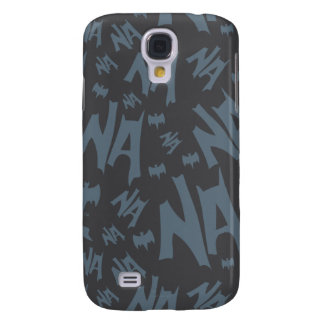 Batman And Robin With Logo Distressed Graphic 2 Galaxy S4 Case