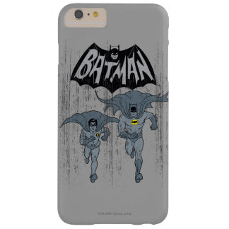 Batman And Robin With Logo Distressed Graphic Barely There iPhone 6 Plus Case