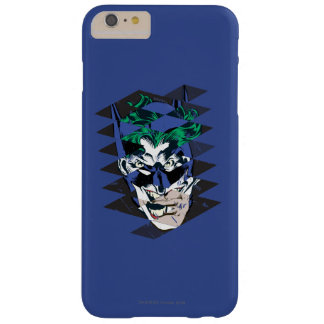 Batman and The Joker Collage Barely There iPhone 6 Plus Case