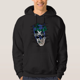 Batman and The Joker Collage Hoodie