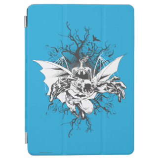 Batman and tree design iPad air cover