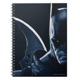 Batman: Arkham Asylum | Batman Closeup Notebook
