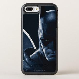 Batman: Arkham Asylum   Batman Closeup OtterBox Symmetry iPhone 8 Plus/7 Plus Case
