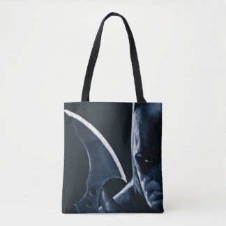 Batman: Arkham Asylum | Batman Closeup Tote Bag