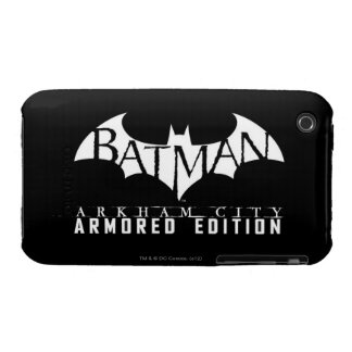 Batman: Arkham City Armored Edition BW iPhone 3 Case