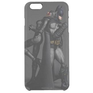 Batman Arkham City | Batman and Catwoman Clear iPhone 6 Plus Case