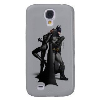 Batman Arkham City | Batman and Catwoman Galaxy S4 Case