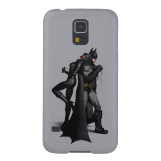 Batman Arkham City | Batman and Catwoman Galaxy S5 Covers