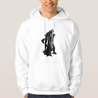 Batman Arkham City | Batman and Catwoman Hoodie