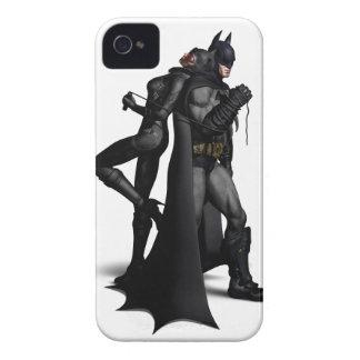 Batman Arkham City   Batman and Catwoman iPhone 4 Case-Mate Case