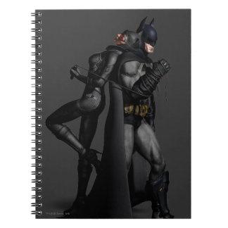 Batman Arkham City | Batman and Catwoman Notebook
