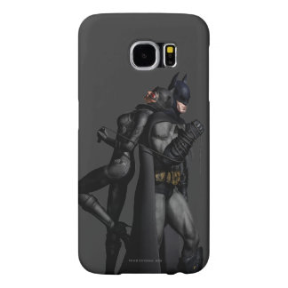 Batman Arkham City | Batman and Catwoman Samsung Galaxy S6 Cases
