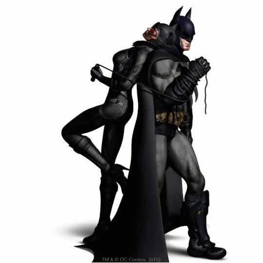 Batman Arkham City   Batman and Catwoman Standing