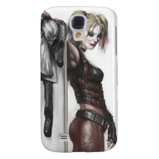 Batman Arkham City | Harley Quinn Illustration Galaxy S4 Case