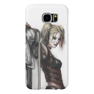 Batman Arkham City | Harley Quinn Illustration Samsung Galaxy S6 Cases