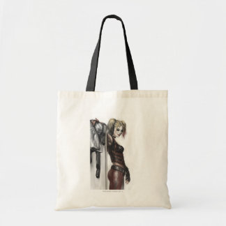 Batman Arkham City | Harley Quinn Illustration Tote Bag