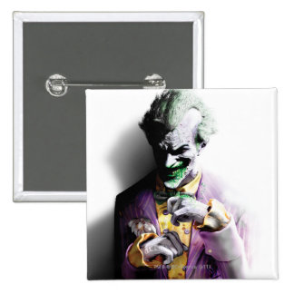 Batman Arkham City | Joker 15 Cm Square Badge