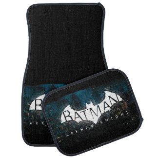 Batman Arkham Knight Gotham Logo Car Mat