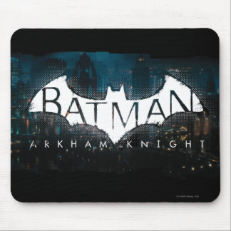Batman Arkham Knight Gotham Logo Mouse Mat