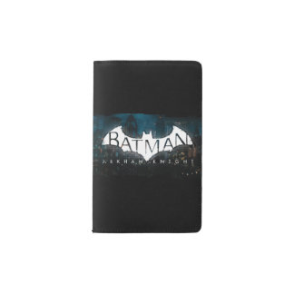 Batman Arkham Knight Gotham Logo Pocket Moleskine Notebook