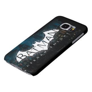 Batman Arkham Knight Gotham Logo Samsung Galaxy S6 Cases