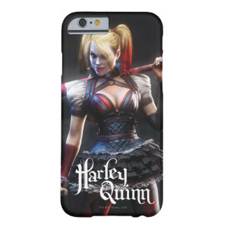 Batman Arkham Knight | Harley Quinn with Bat Barely There iPhone 6 Case