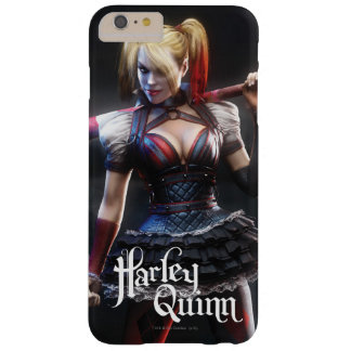Batman Arkham Knight | Harley Quinn with Bat Barely There iPhone 6 Plus Case