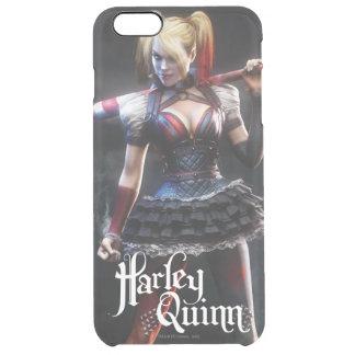 Batman Arkham Knight | Harley Quinn with Bat Clear iPhone 6 Plus Case