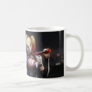 Batman Arkham Knight | Harley Quinn with Bat Coffee Mug
