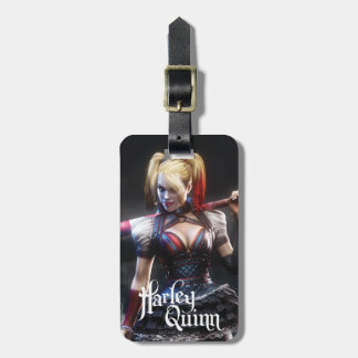 Batman Arkham Knight | Harley Quinn with Bat Luggage Tag
