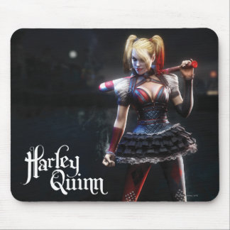 Batman Arkham Knight | Harley Quinn with Bat Mouse Mat