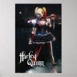 Batman Arkham Knight | Harley Quinn with Bat Poster