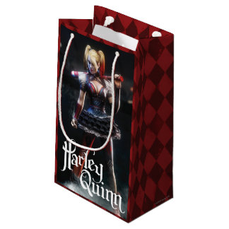 Batman Arkham Knight | Harley Quinn with Bat Small Gift Bag