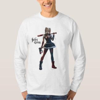 Batman Arkham Knight   Harley Quinn with Bat T-Shirt