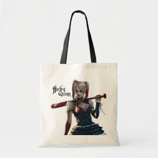Batman Arkham Knight | Harley Quinn with Bat Tote Bag